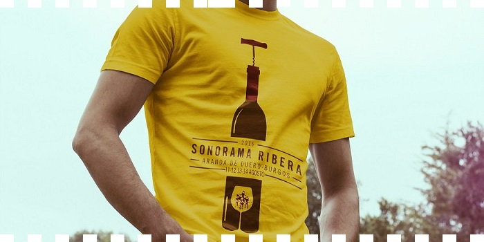 Ya tenemos diseño para las camisetas Sonorama Ribera 2016