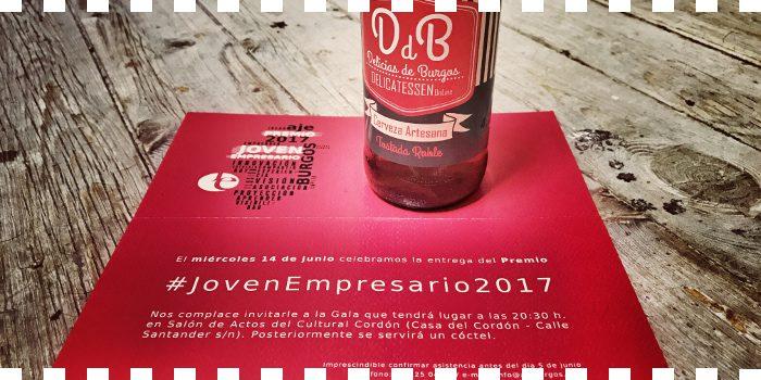 Colaborando con #JovenEmpresario2017 ...de AJE Burgos!