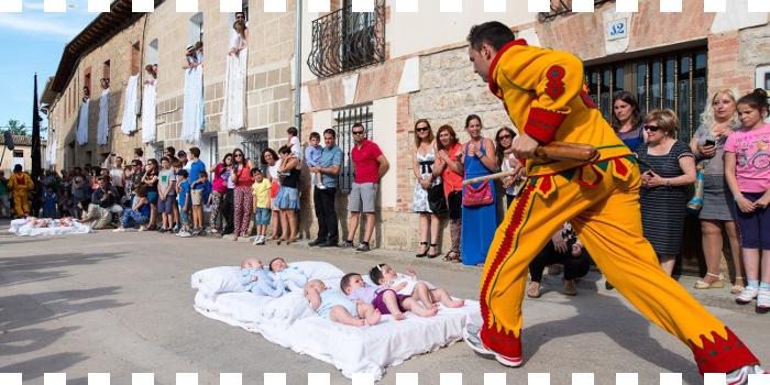 Fiesta del Colacho 2017 en Castrillo de Murcia (Burgos) del 14 al 19 de junio 2017