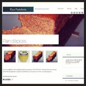 Pastelería de alta calidad con Rica pastelería