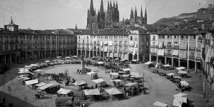 Mercado tradicional de Burgos