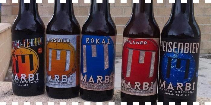 Cervezas Marbi ...en DeliciasBurgos