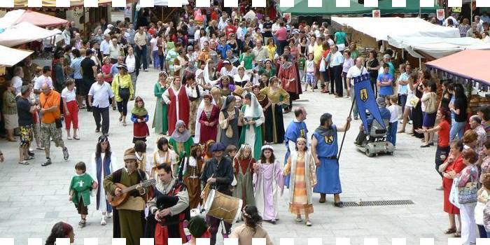 VI Mercado Medieval de Salas de los Infantes