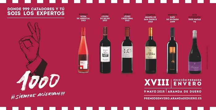 Premios Envero 2015 ...en DeliciasBurgos