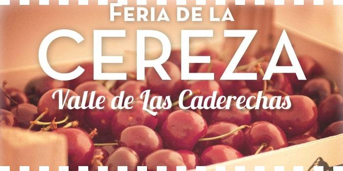 Feria de la cereza de Caderechas en 2015
