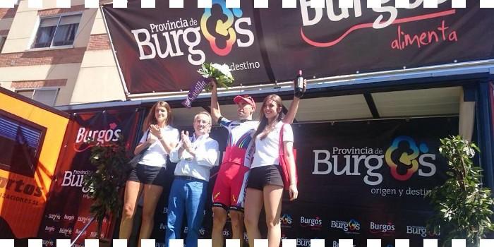 Isaychev hace buena la escapada ...en la Vuelta a Burgos