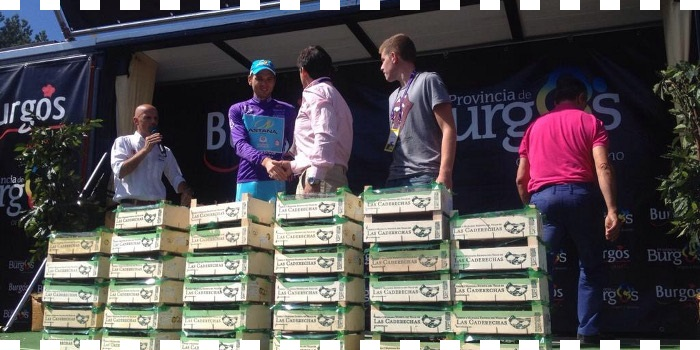 Dani Moreno gana en Neila y Taaramae se lleva la Vuelta a Burgos