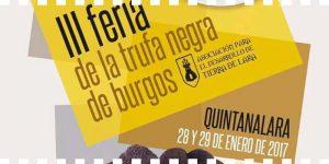 Tercera feria de la trufa negra de Burgos
