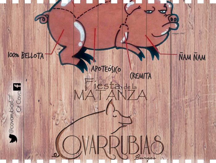 Fiesta de la Matanza 2017 en Covarrubias