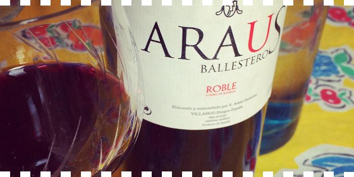 Tinto Roble 2014 Araus Ballesteros en Suplemento ¡SAL!