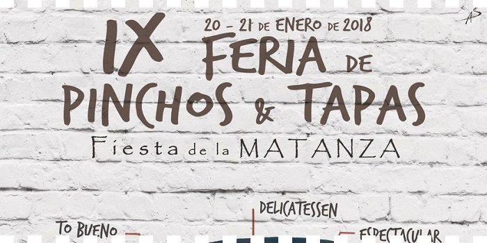 IX feria de pinchos y tapas de Covarrubias ...fiesta de la Matanza 2018!