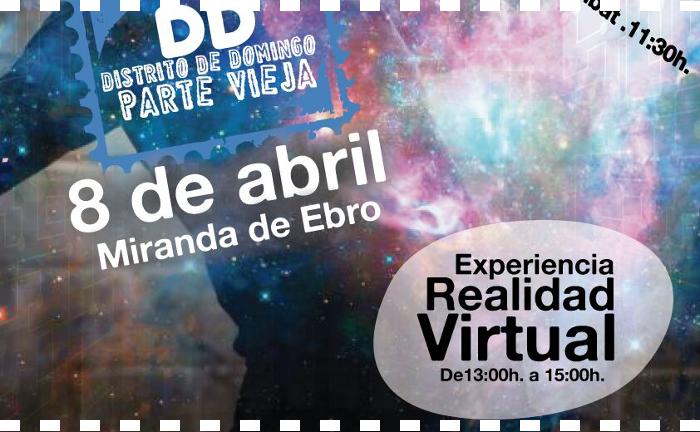 Distrito de Domingo en Miranda de Ebro ...el próximo 8 de abril 2018