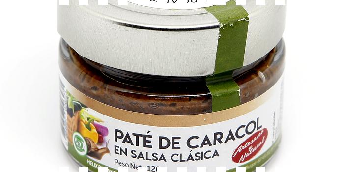 Paté artesano de caracol ...en La Cata de Burgos Alimenta