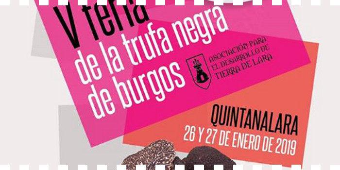 Quinta feria de la Trufa Negra de Burgos en Quintanalara