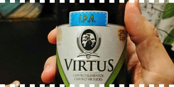 Cerveza Virtus I.P.A. en La Cata de Burgos Alimenta