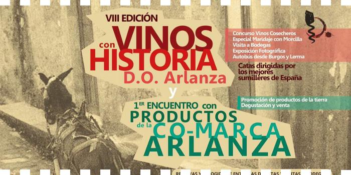 VIII edición de Vinos Con Historia y I encuentro con productos co-marca Arlanza
