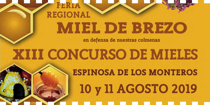 Feria Regional Miel de Brezo en Espinosa de los Monteros
