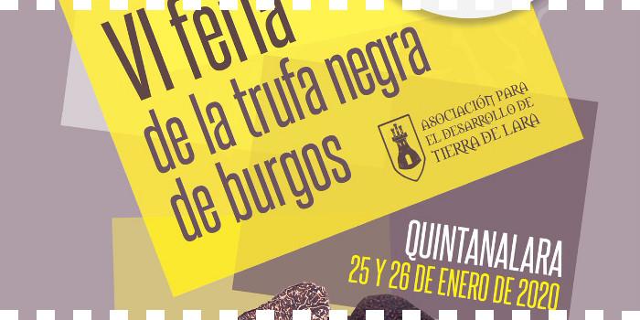 VI Feria de la trufa negra de Burgos en Quintanalara